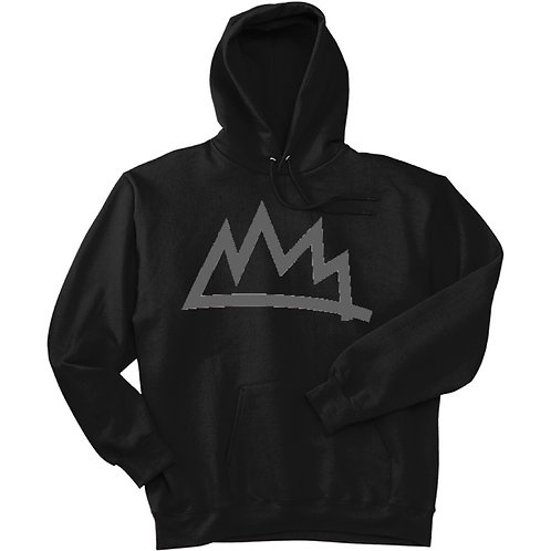 Black/Grey Crown Hoodie '18