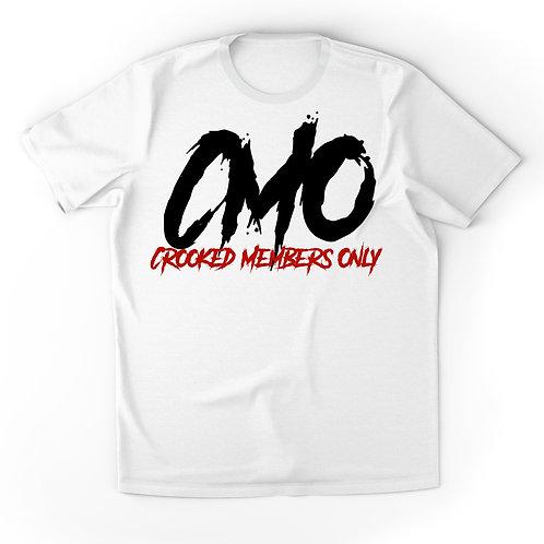 White/Black/Red CMO T-Shirt