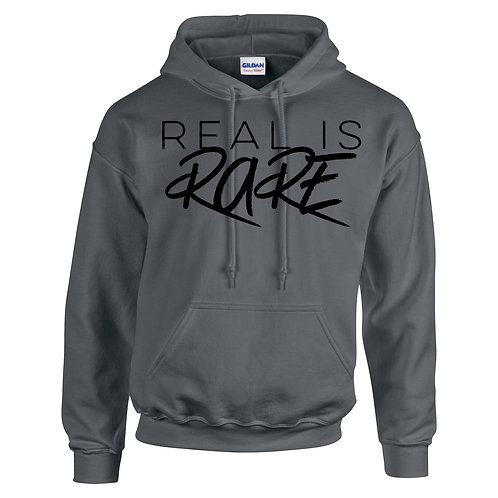 Heather Grey Hoodie (REAL IS RARE)