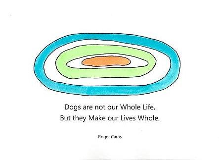 Pets - Dogs Make Lives Whole
