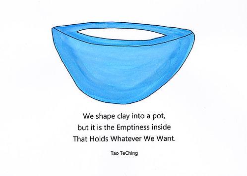 Encouragement -Clay Pot