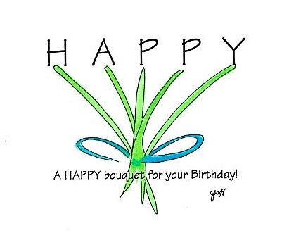 Birthday - Happy Bouquet
