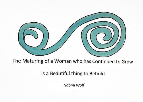 Birthday - Maturing Woman