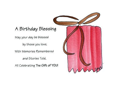 Birthday - Birthday Blessing