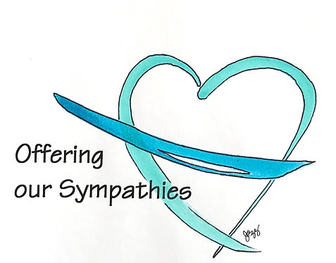 Sympathy - Offering our Sympathies