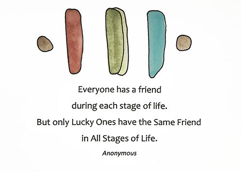 Friendship - Friends for Life