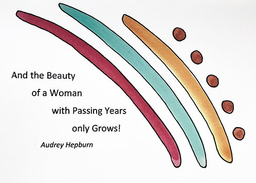 Birthday - Women's Beauty Grows with Age