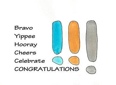 Congratulations - Bravo