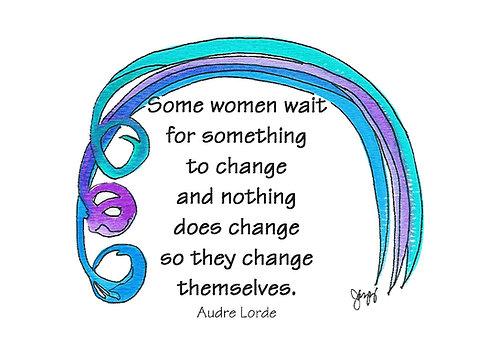 Encouragement -Women Change