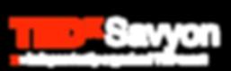 TEDxSavyon Logo White.png