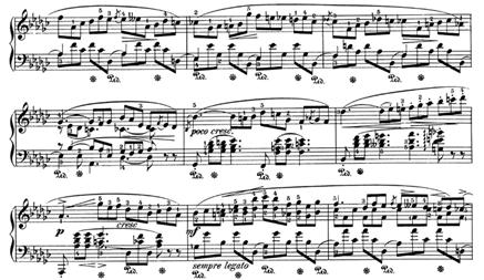 Impromptu № 3, Op. 51, Chopin