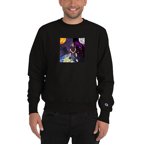 It Gets Sunny When It's Dark Out Champion Sweatshirt