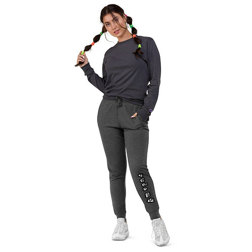 Rude AF Womens Skinny Joggers