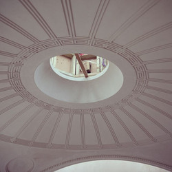 Decorative domed ceiling
