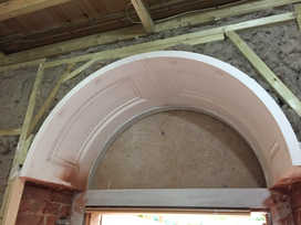 Bespoke Fibrous Arch with Panneling