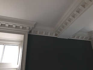 Bespoke Cornice with Medallions