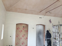 Lime Plaster on Woodfibre Boards