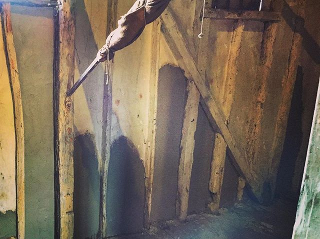 Daub Repairs to a Watermill in Cambridgeshire, maintaining the historic structure of the building