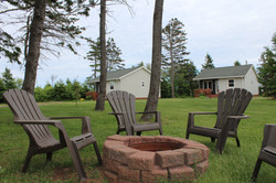 Fire Pit by 2-bedroom Cottages