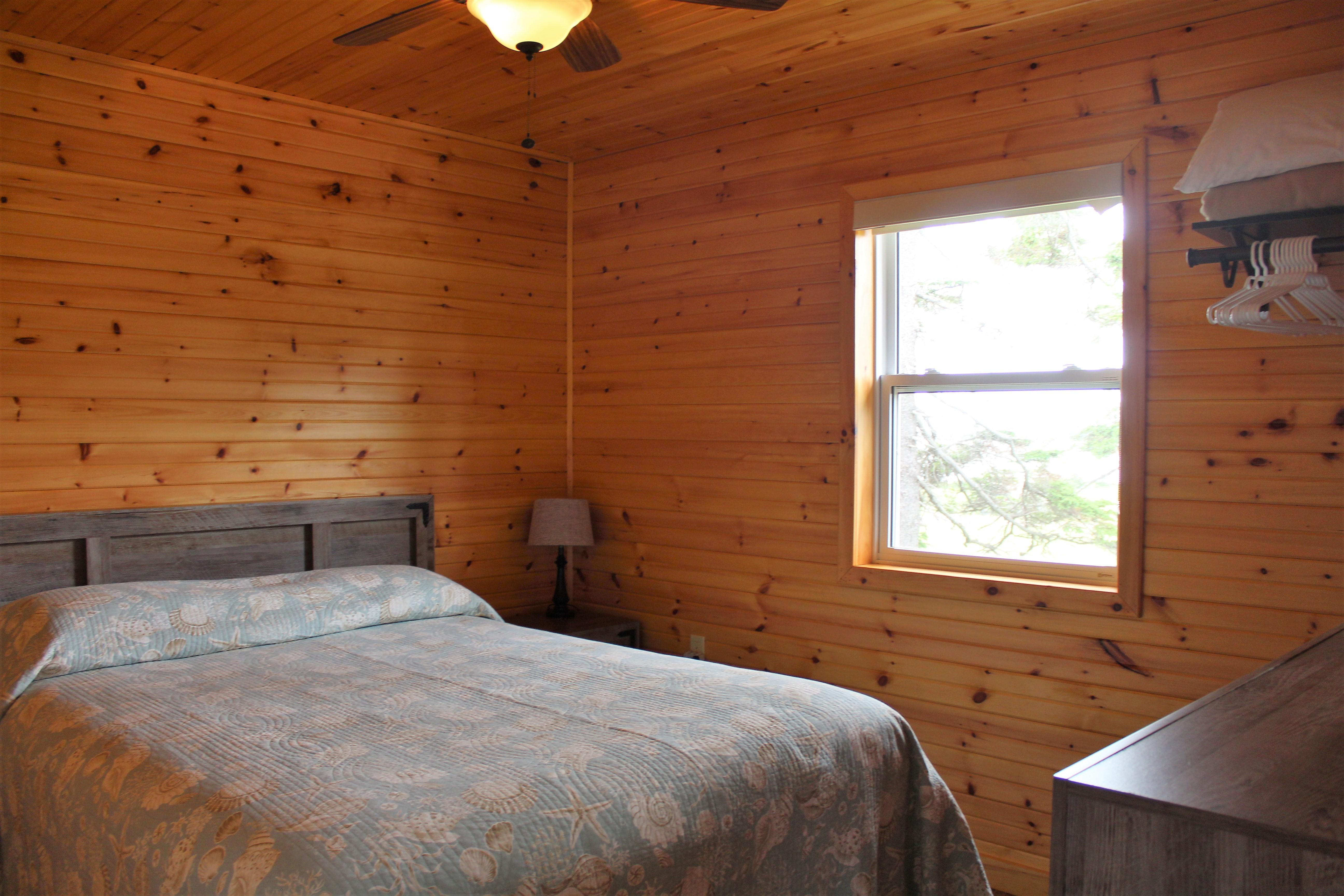 Cottage #1 Bedroom