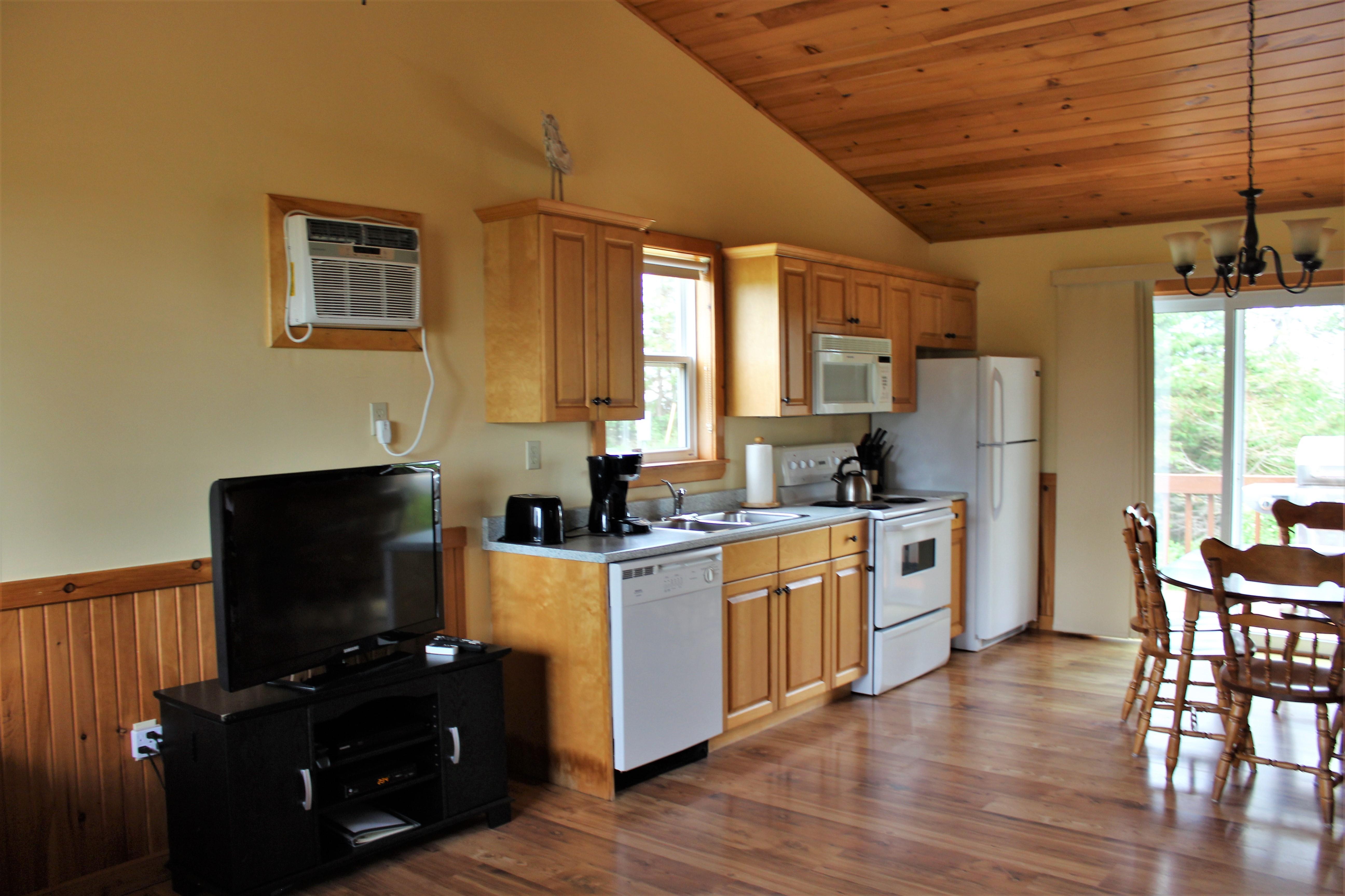 Cottage #2 Kitchen
