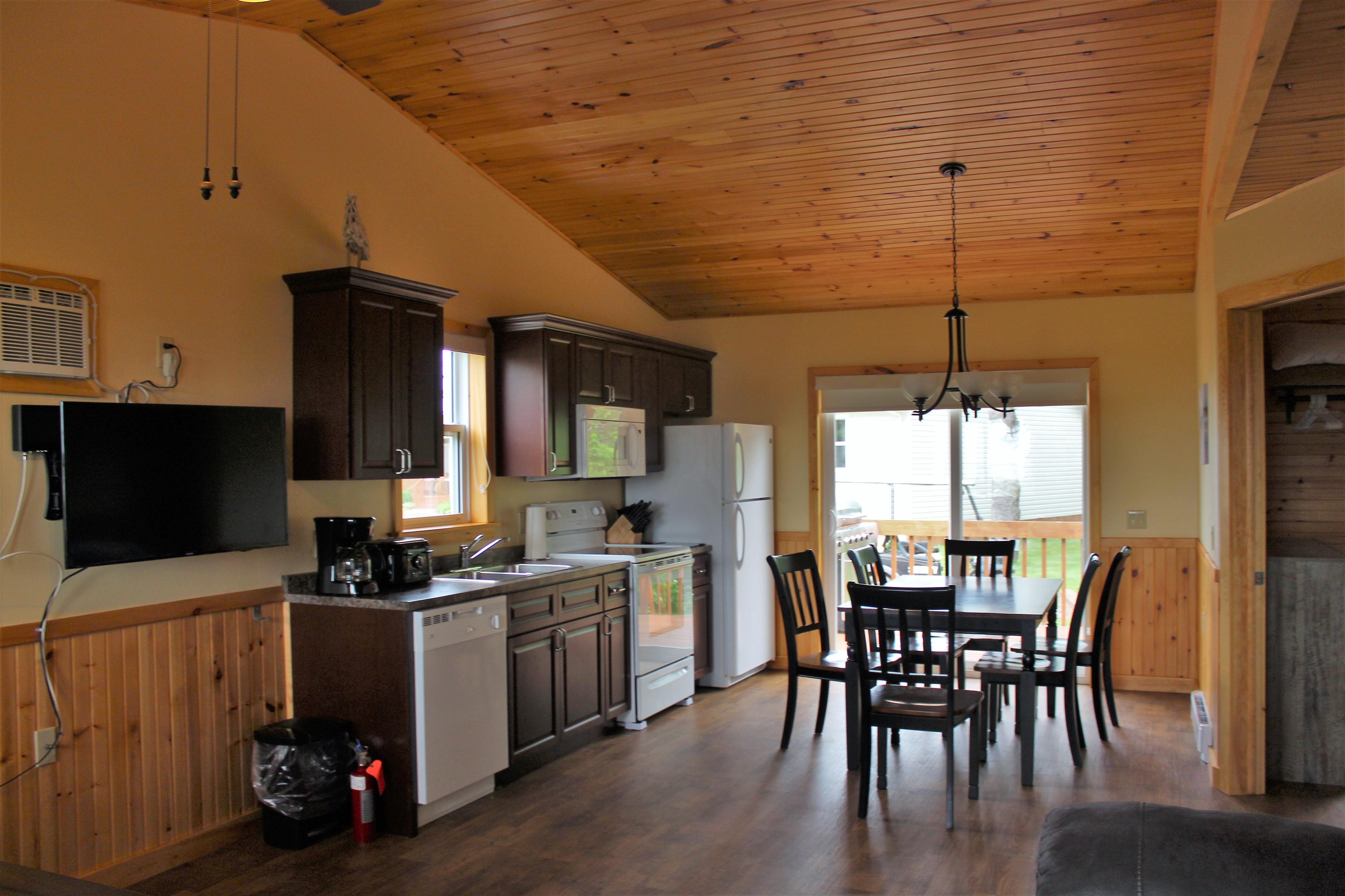 Cottage #1 Kitchen