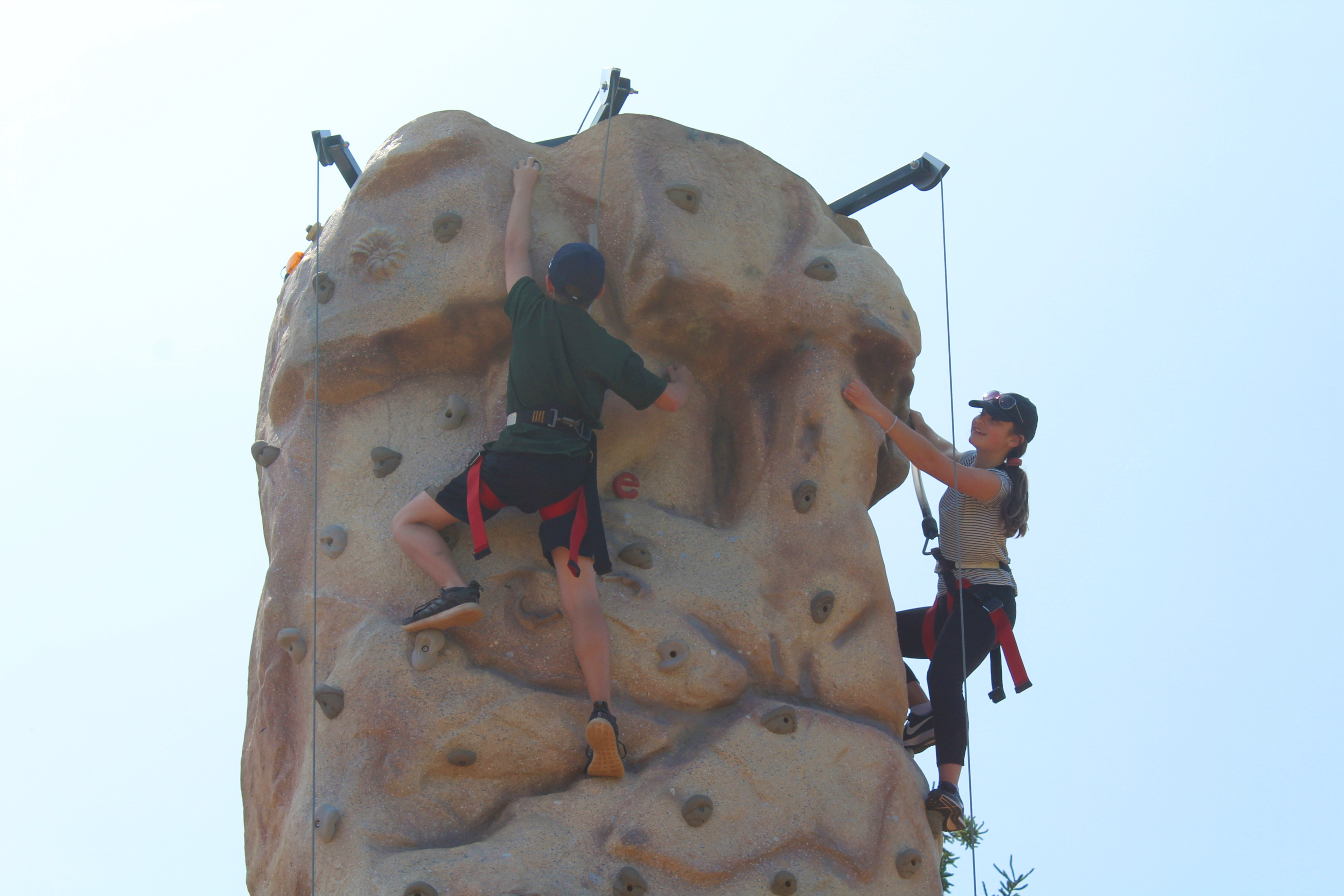 Rock Wall at Darnley Greens