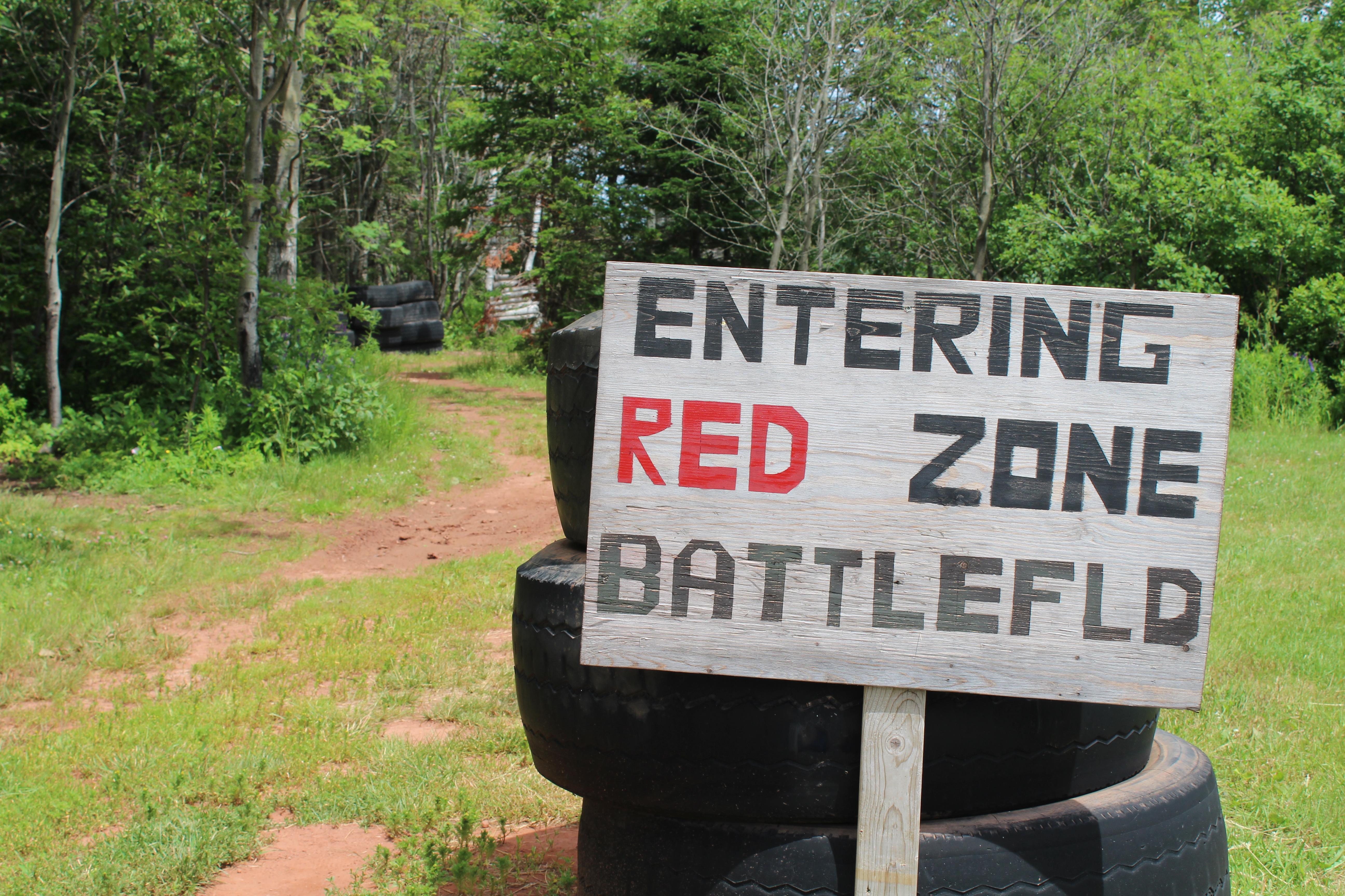 Red Zone Laser Tag at Darnley Greens