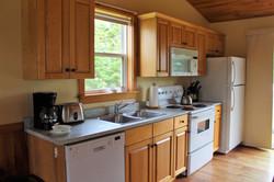 Cottage #3 Kitchen