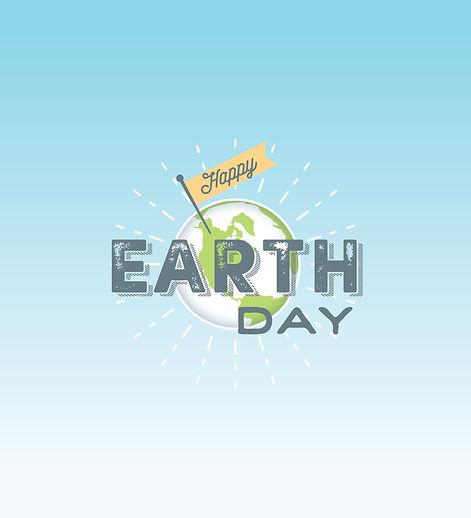 UT DHFS Happy Earth Day logo