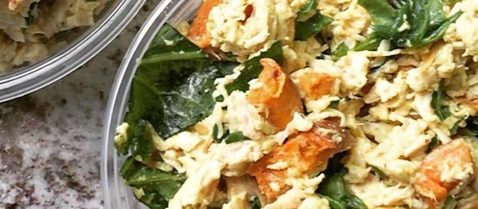 Curried Sweet Potato Chicken Salad