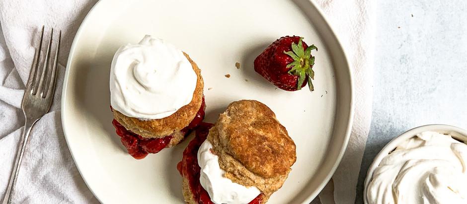 Super Simple Strawberry Shortcake