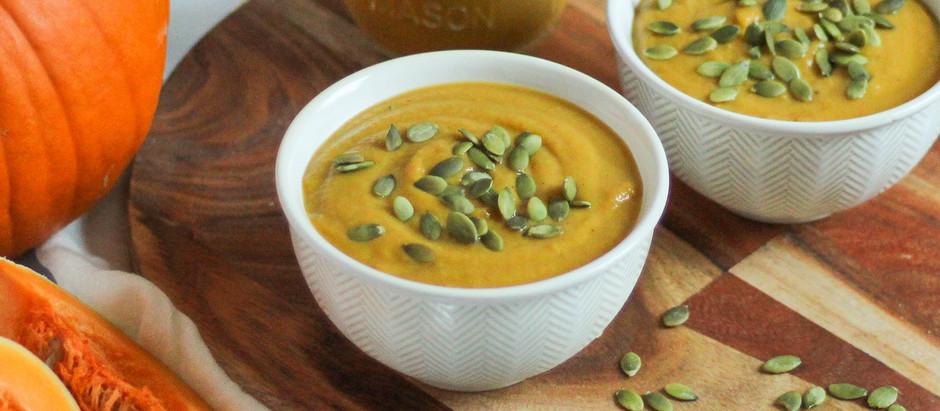 Creamy Vegan Fall Squash Soup