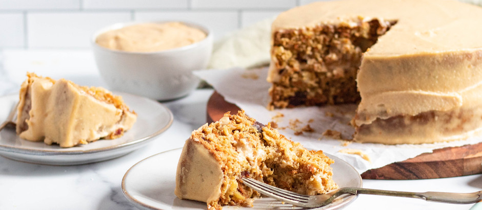 Better-For-You Carrot Cake (Gluten Free and Dairy Free!)