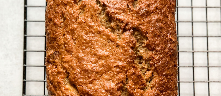 One Bowl Banana-Date Bread