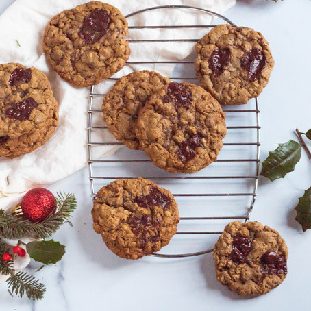 Oatmeal Chocolate Chip Gingerbread Cookies
