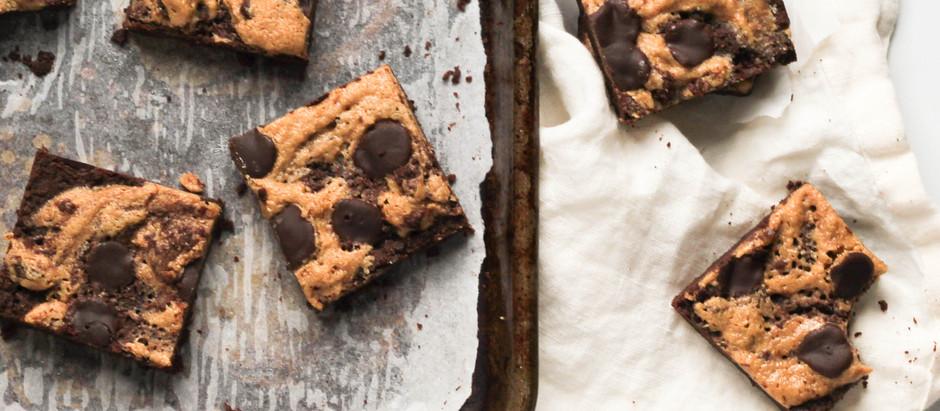 Gluten-Free, Dairy-Free Peanut Butter Brownies