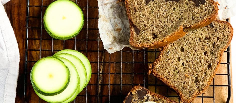 Gluten-Free Chocolate Chunk Zucchini Bread