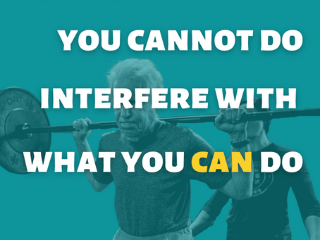 """MOTIVATION MONDAY: """"Can't"""" is a Four-Letter Word"""