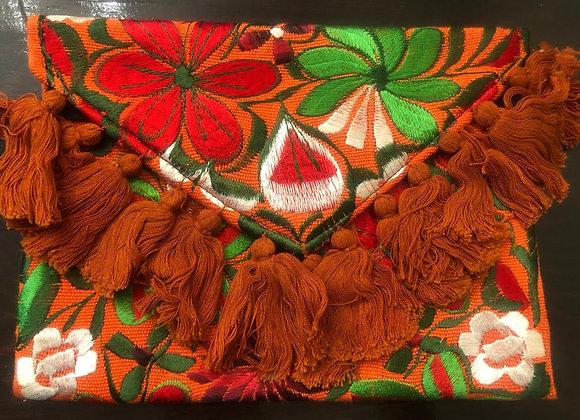 Cartera hecha en Chiapas