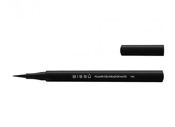 Bissu Plumin delineador Mate/ Color Negro