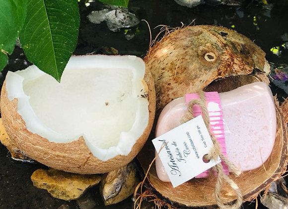 Jabón Orgánico Artesanal de Coco