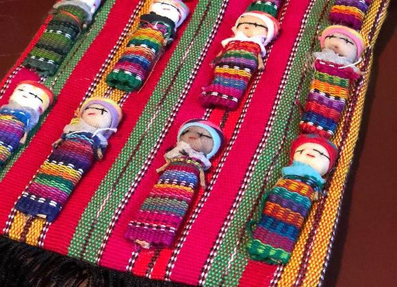 Bolsa para niña tejida a mano por artesanos Mexicanos