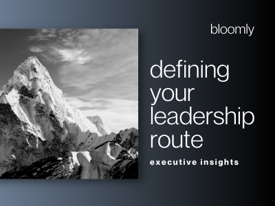 Defining Your Leadership Route