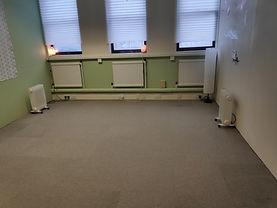 Yoga or meditation room
