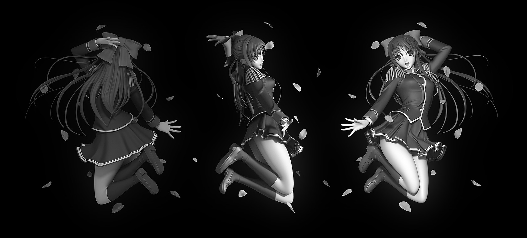 3D Model of Anime Image