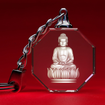 Ring Key with Budha