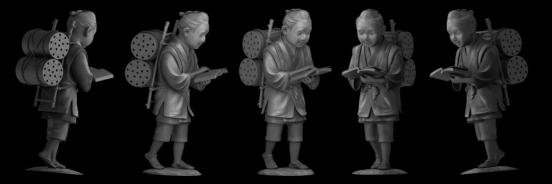 NINOMIYA KINJIRO_2_3D Model