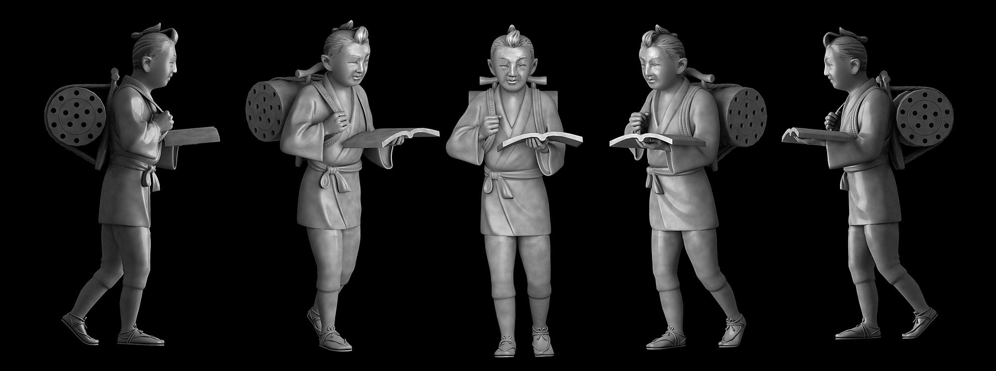 NINOMIYA KINJIRO_3D Model