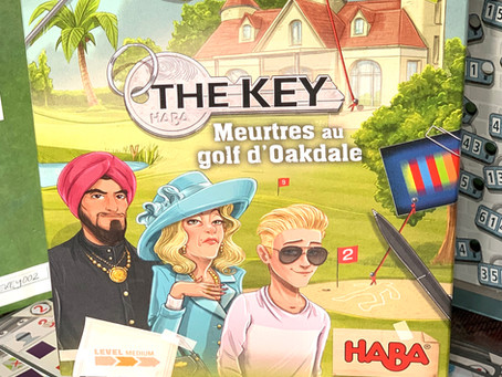 The Key: Murder at Oakdale Golf Course
